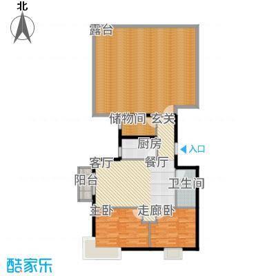 鸥洲90.08㎡小高层AA户型2室2厅