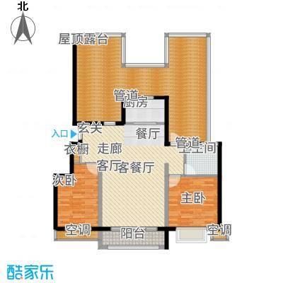 富立秦皇半岛98.91㎡A2-3户型2室2厅