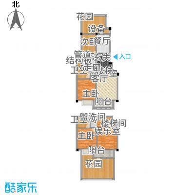 上海大公馆151.49㎡E1户型4室2厅