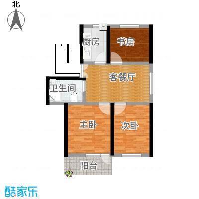 三室一厅-原始户型