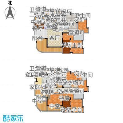 中铁·凤凰谷652.63㎡A2+工人套间户型