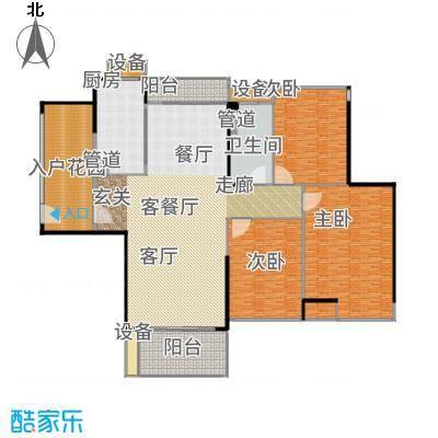 爱ME公园101.66㎡9/10座2-22层D-01户型3室2厅