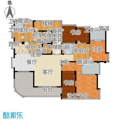 中铁·凤凰谷366.10㎡A1+工人套间户型3室3厅
