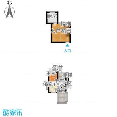 大理王宫80.00㎡户型1室2厅