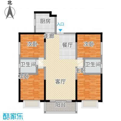 嘉逸岭湾153.67㎡云台-3-C户型4室2厅