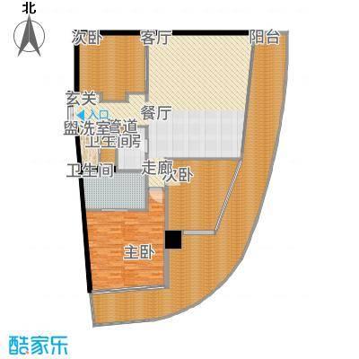 国家海岸·保利财富中心公寓D户型
