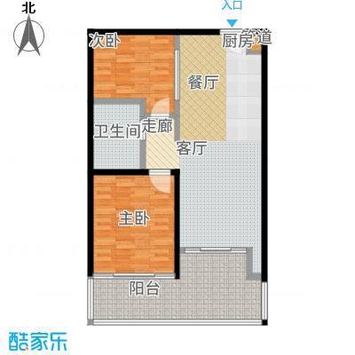 国家海岸·保利财富中心公寓B户型