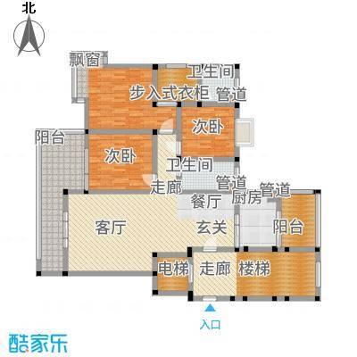 丽江山海居132.47㎡户型3室2厅