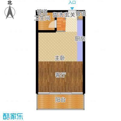 国家海岸·保利财富中心公寓A户型