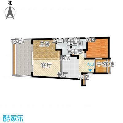 东和中央海岸103.00㎡【】3户型2室2厅