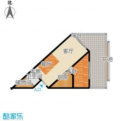 东和中央海岸108.00㎡【】5户型1室1厅