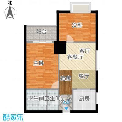 三亚太阳岛公寓C1/C2/C3/C4户型2室2厅