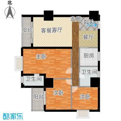 三亚太阳岛公寓D1/D2户型3室2厅