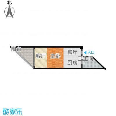 东和中央海岸80.00㎡【】1户型1室1厅