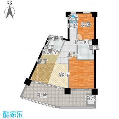 葛洲坝·海棠福ONE公寓册-05户型