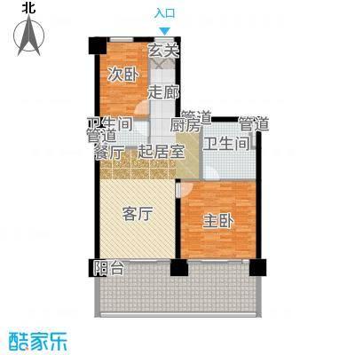 葛洲坝·海棠福ONE公寓册-04户型
