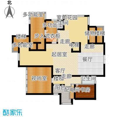 浦江颐城晶寓160.00㎡A户型3室2厅