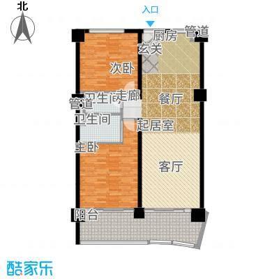 葛洲坝·海棠福ONE公寓册-03户型