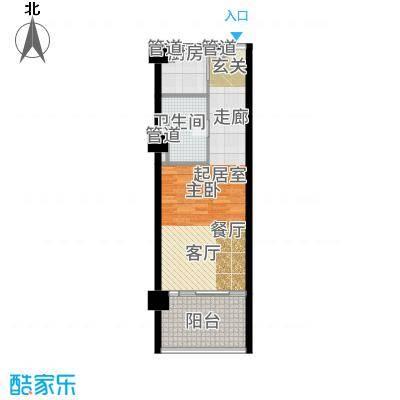 葛洲坝·海棠福ONE公寓册-01户型