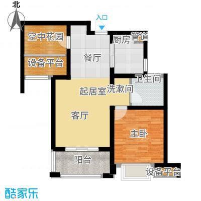 海亮九玺76.00㎡B4-B户型2室2厅