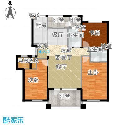 辰能溪树河谷洋房户型3室2厅