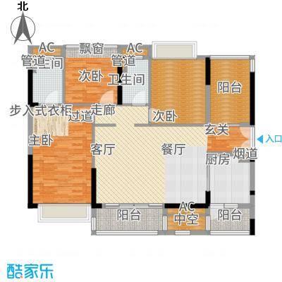 金达锦绣东方140.82㎡6/7栋01/02户型3室2厅