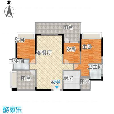 深圳东星河丹堤三期3、5、6、7栋03户型