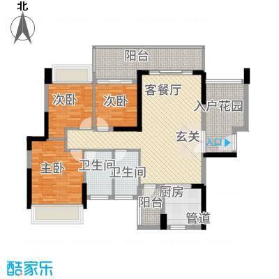 深圳东星河丹堤三期11/12/13栋1单元03户型