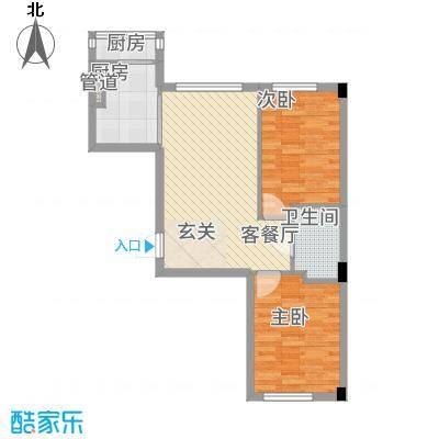 泉水A1区75.00㎡户型2室
