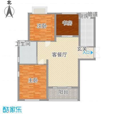 丽景苑145.00㎡户型3室