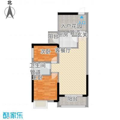 龙光城北区100栋、107栋A2户型