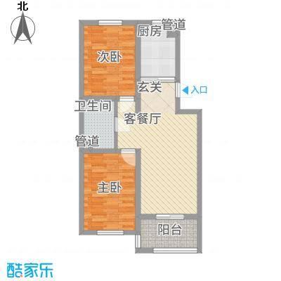 盛世・帝景湾76.46㎡C户型