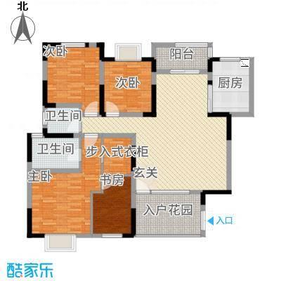 惠华花园户型3室