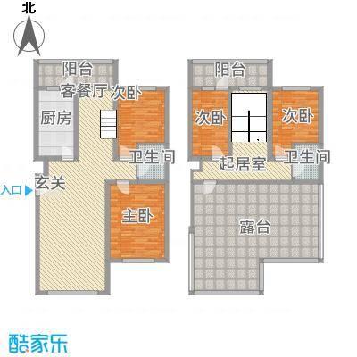 新居时代74.00㎡户型2室