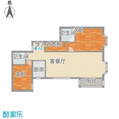 九台2000家园11.00㎡户型2室