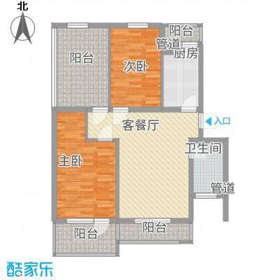 兆丰家园12.00㎡户型3室