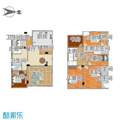 上海青浦徐泾明珠家园3层,1-2F自住v6