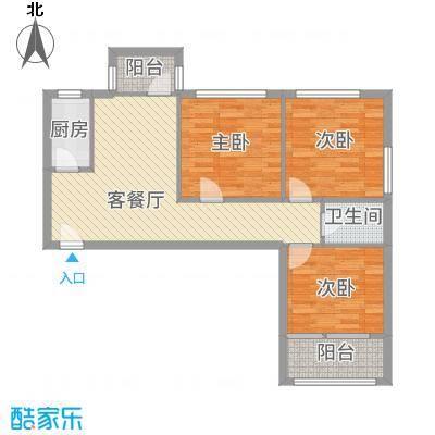 车道沟南里户型3室