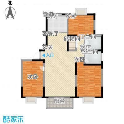 江南文枢苑142.00㎡N户型3室2厅2卫