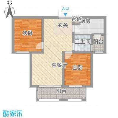 建业桂园高层17/19号楼A2户型