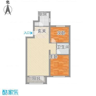 秦皇岛华润橡树湾二期毛坯D户型