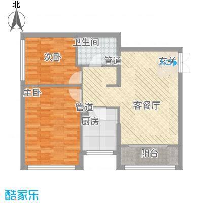 金地经典88.18㎡3-5#楼户型