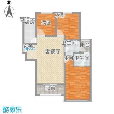 天朗蔚蓝东庭6号楼户型