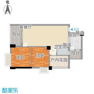 明福智富广场2座03单元户型