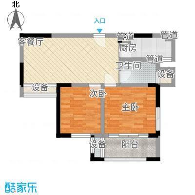 宝信润山78.00㎡户型