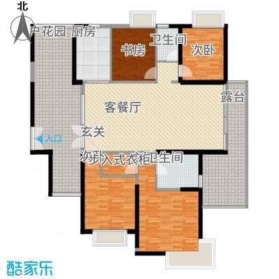 江南一品158.00㎡已售罄-H1、H2奇数层、H6偶数层户型3室2厅2卫1厨
