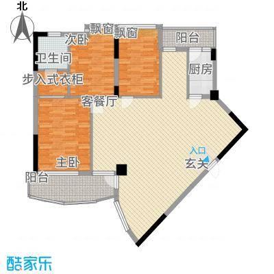 名门豪苑111.00㎡户型