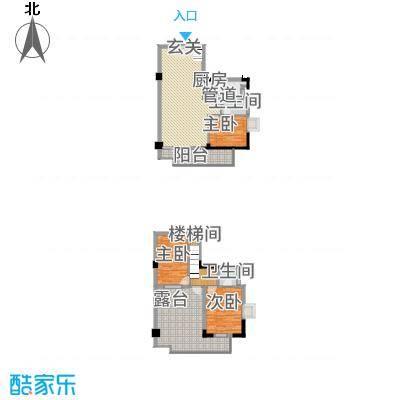 丰融尚城137.60㎡C栋(18、19)06户型3室2厅2卫1厨