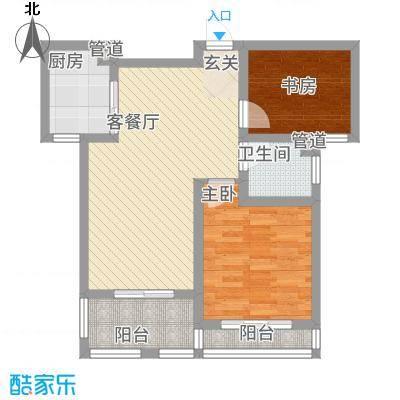 假日丽景81.00㎡户型2室