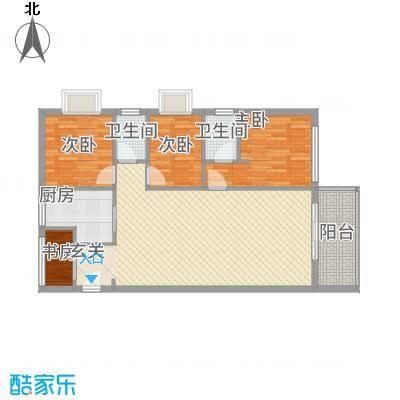 海宇连城国际户型3室